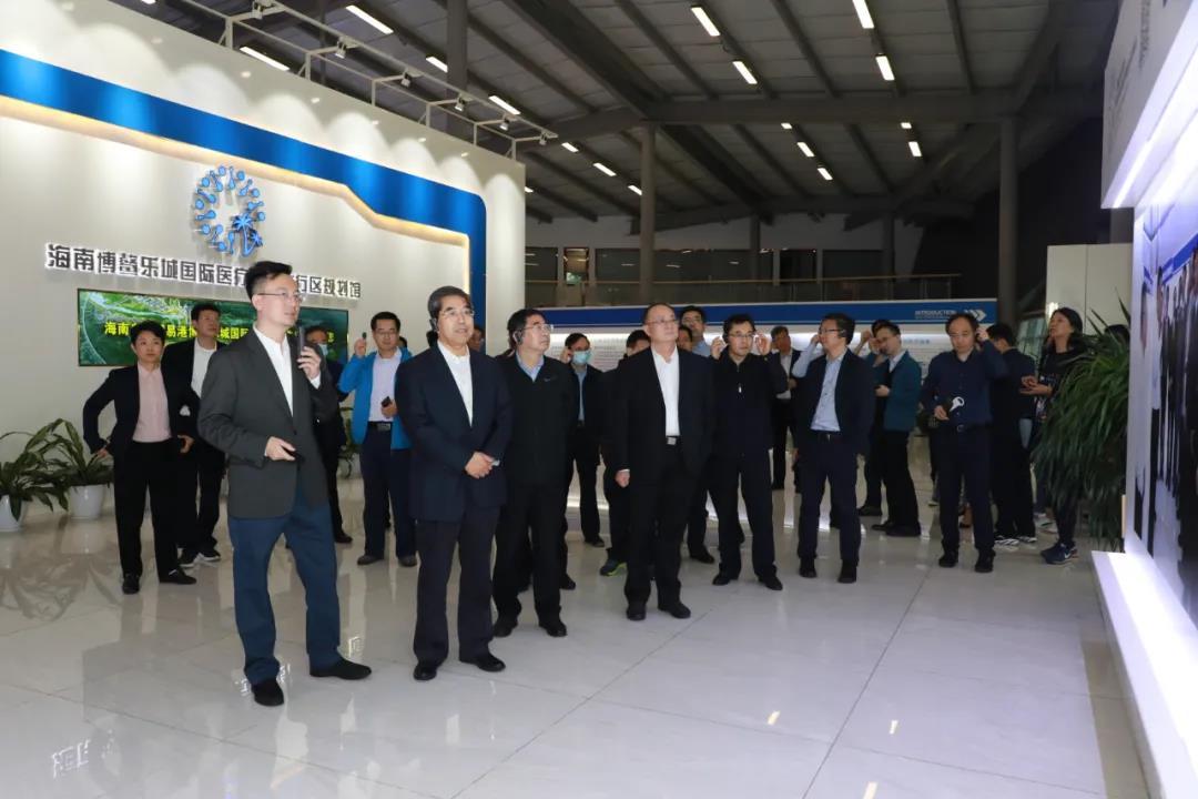 国务院发展研究中心海南自贸港建设半年评估组到乐城调研